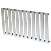 Reina Pienza Horizontal Designer Radiator Chrome 550 x 995mm 1925BTU