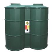 PolyOil Tank Green 1200Ltr