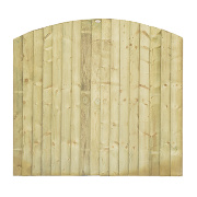 Grange Fencing Dome Feather Edge Fence Panels 1.8 x 1.7m Pack of 6