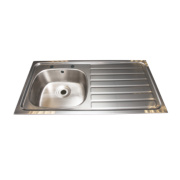 Franke Inset Kitchen Sink S/Steel 1 Bowl & Right Hand Drainer 1015 x 505mm