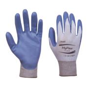 Ansell HyFlex 11-518 Ultralight Gloves Blue/Grey Large
