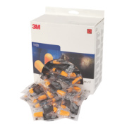 3M 1100 37dB Corded Foam Ear Plugs 200 Pairs