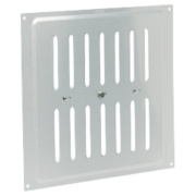 Map Vent Adjustable Louvre Vent Silver 229 x 229mm