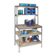 RB UK Boltless Freestanding Workbench & Shelving