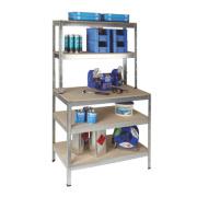 RB UK Boltless Freestanding Workbench & Shelving
