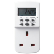Masterplug Digital Programmable 7 Day Timer 240V
