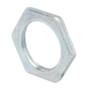 20mm Steel Locknuts - Pk 10