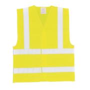 Hi-Vis Waistcoat Yellow Small / Medium 47