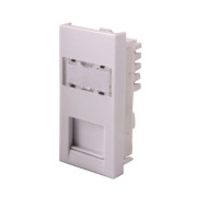 LAP Cat 6 RJ45 Grid Module White