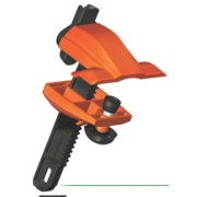 Skipper XS Retractable Barrier Clamp Holder / Receiver Black/Orange