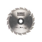 Dewalt 165mm Circ Saw Blade 18 Tooth