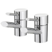 Bristan Oval Bath Taps Pair