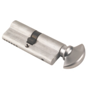 ERA 6-Pin Euro Cylinder Thumbturn 40-40 (80mm) Satin Nickel