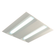 LEC Low Energy LED Sensor Recessed Panel Light Cool White 32W