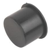 FloPlast Pushfit Socket Plug Black 40mm