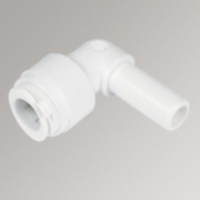 FloPlast Flo-Fit Stem Elbow 10mm