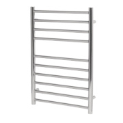 Reina Luna Flat Ladder Towel Radiator S/Steel 430 x 600mm 262W 895Btu