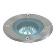 Eden Round GU10 Ground Light Stainless Steel 50W