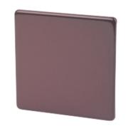 Varilight Mocha Single Blank Plate