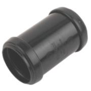 FloPlast Pushfit 40mm Straight Couplers Black