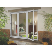 Ellbee uPVC Fold & Slide Double-Glazed Patio Door Left Hand 1790 x 2090mm