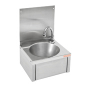 Franke SCRANMX216 Knee Operated Wall-Hung Washbasin 1 Tap Hole 305mm