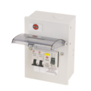 Wylex 2-Way Garage Unit 63A 30mA RCD