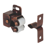 Cabinet Catch Rollers Bronze Effect 32mm Pack of 10