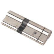 Yale Anti-Snap Euro Double Cylinder Lock 50-40 (90mm) Brushed Nickel