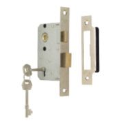 ERA 3-Lever Mortice Sashlock Chrome Effect 2½