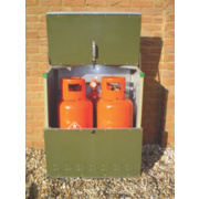 Trimetals Senturion 151319 LP Gas Cylinder Store 0.7m x 0.4m x 0.9m