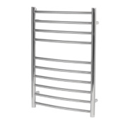 Reina EOS Curved Ladder Towel Radiator S/Steel 430 x 500mm 230W 783Btu