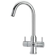 Brita Torlan 3-Way Sink-Mounted Mono Mixer Kitchen Filter Tap Chrome