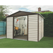 Yardmaster Shiplap Sliding Door Apex Shed 10 x 12 x