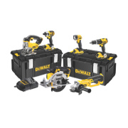 DeWalt DCK691M3 18V 4.0Ah Li-Ion Cordless 6-Piece Kit XR