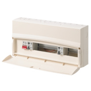 MK 17th Ed 15Way Metal Spilt Load 80A & 63A RCD Consumer Unit