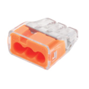 Ideal In-Sure 3-Port Push-In Wire Connectors Pack of 100