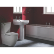 Twin-Ended Bath End Panel 1700mm White