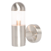 Sigma Brushed Stainless Steel Wall Light 40W