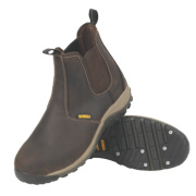 DeWalt Radial Dealer Safety Boots Brown Size 9