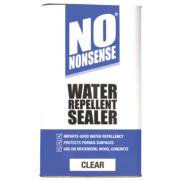 No Nonsense Water Repellent Seal Clear 5Ltr