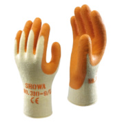 Showa Best 310 Original Builder's Gloves Orange Medium