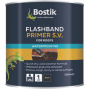 Flashband Evo-Stik Flashband & Primer 500ml Black 89mm x 89mm