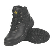 Amblers Water-Resistant Safety Boots Black Size 11