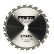 Erbauer TCT Circular Saw Blade 24T 190x16mm