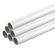 Tower Conduit Heavy Gauge 25mm x 2m White (40m) Pack of 20