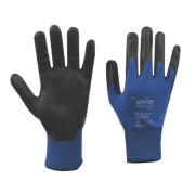 Uvex Phynomic M1 Wet Gloves Blue/Black Large