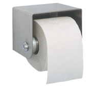Franke Heavy Duty Wall-Mounted Toilet Roll Holder with Lock Stainless Steel
