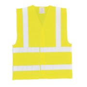 Hi-Vis Waistcoat Yellow Large / X Large 52