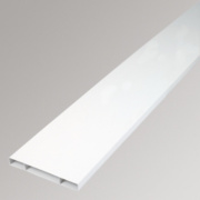Manrose Flat Channel White 225mm Pack of 4